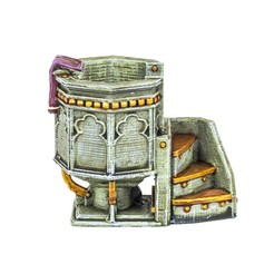 stl HG3D Worship Pulpit- 28mm, Hobgoblin3D