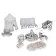 Plan 3D HG3D Adventurers'Long Rest' Pack'Long Rest' - 28mm, Hobgoblin3D