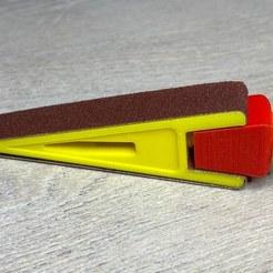 IMG_0228.jpg Download free STL file Sanding Tool (sanding wedge) • 3D printable model, Michel6