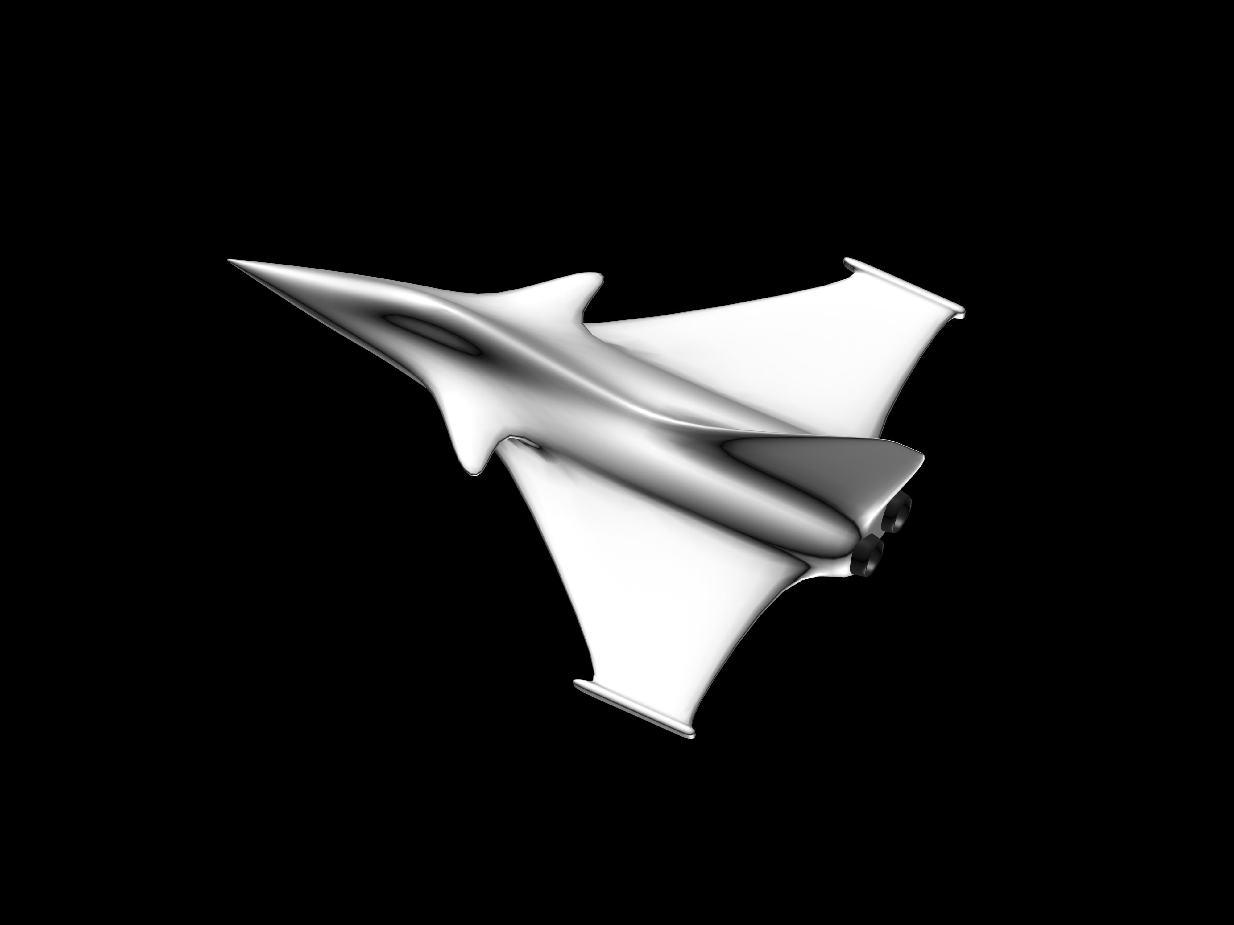 Rafale 2.jpg Download free STL file Rafale Aircraft • 3D printer template, Benjamin_P