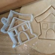 Free stl file House Cookie Cutter, ErickArmenta