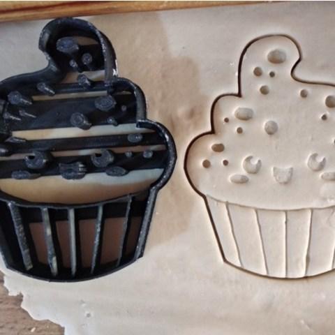 Free 3D file Cupcake cookie cutter, ErickArmenta
