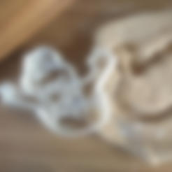 Télécharger STL gratuit Slimmer Cookie Cutter, Ghostbusters fantôme vert, ErickArmenta