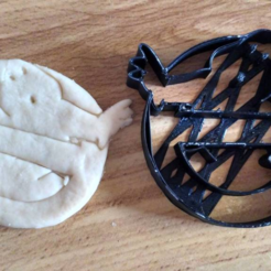 Download free 3D printing files  Ghostbusters cookie cutter, ErickArmenta