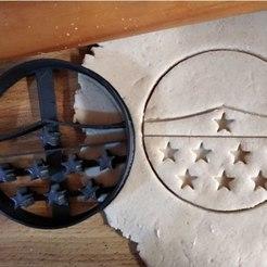 Free 3D model Tiara Wonder Woman cookie cutter, 9cm, ErickArmenta