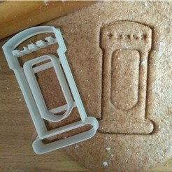 Download free 3D printer designs Tesla Supercharger cookie cutter, ErickArmenta