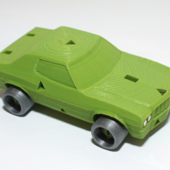 Capture d'écran 2017-09-18 à 10.45.38.png Download free STL file 3DRacers Muscle Car With Spinning Wheels • 3D printable design, MixedGears