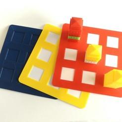 2020-02-09_12.11.02.jpg Download free STL file Manhattan Board Game - Base Tiles • 3D printing design, MixedGears