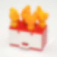 Free stl Duplo Compatible Chicken, MixedGears