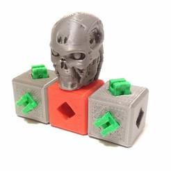 IMG_20200301_184955.jpg Download free 3MF file T800 Head - PrintABlock Ready • 3D printer model, MixedGears