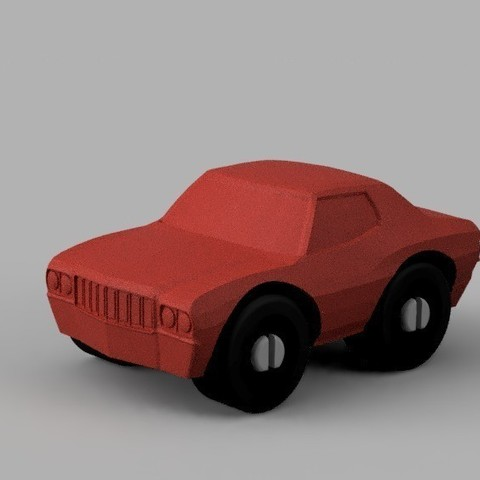 Descargar modelos 3D gratis Muscle Car - Compatible con Duplo, MixedGears