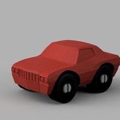 Free 3D model Muscle Car - Duplo Compatible, MixedGears