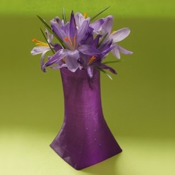 Free stl Simple Vase, MixedGears