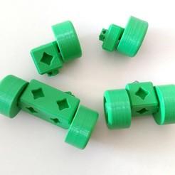 2020-03-14_12.53.24.jpg Download free STL file PrintABlock on Wheels • 3D printing model, MixedGears
