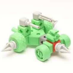 DSC00158.JPG Download free STL file PrintABlock Wheel Spike • Template to 3D print, MixedGears