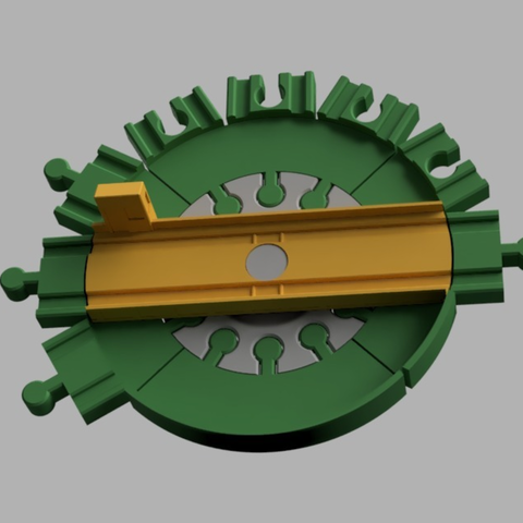 Capture d'écran 2017-09-13 à 11.26.04.png Download free STL file Brio Compatible Turntable - Minor Mods • 3D print template, MixedGears
