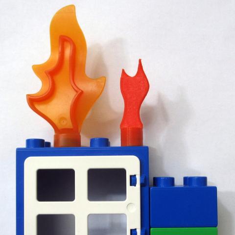 Objet 3d gratuit lego duplo style mini fire cults - Modele lego gratuit ...