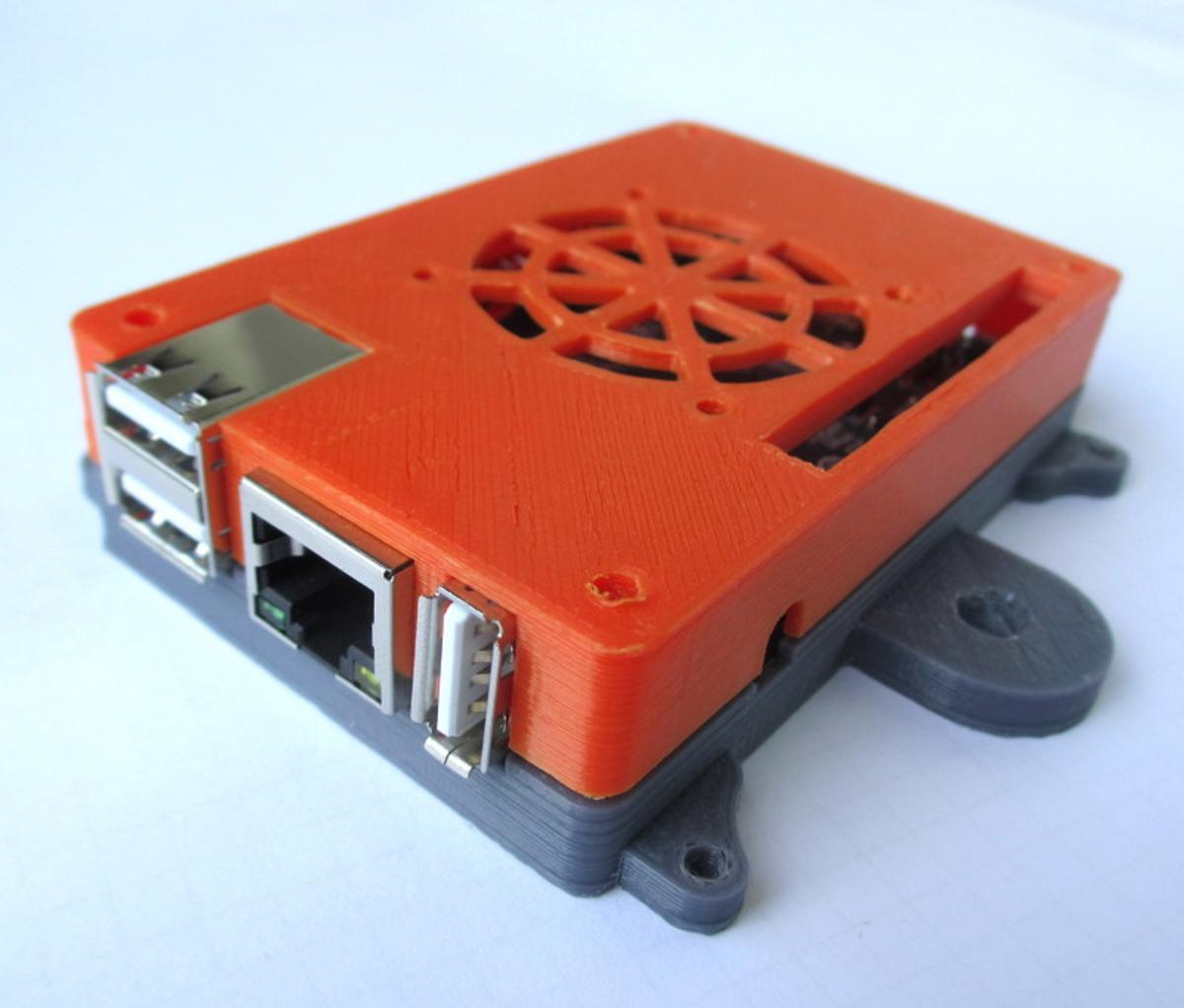 Capture d'écran 2017-09-13 à 11.15.27.png Download free STL file Orange PI PC Case with External mounts + M5 mount • 3D print design, MixedGears