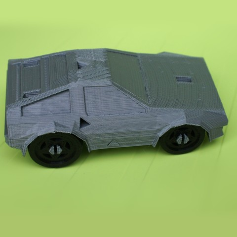 Free 3DRacers - DeLorean 3D model, MixedGears
