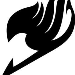 Imprimir en 3D logotipo de la cola de hadas, samy-gon