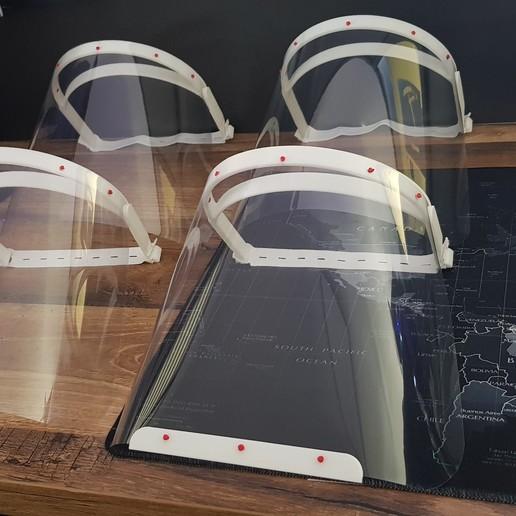 Télécharger objet 3D gratuit visière de protection, Matt5
