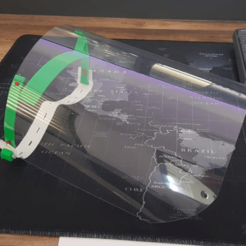 Descargar archivo 3D gratis soporte de visera iluminado, Matt5