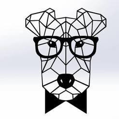 Download 3D printing templates fox terrier, nono3228
