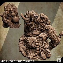 3d-printable-Oni-miniature-2.jpg Download STL file Support Free Oni King Miniature Jirangar The Master • 3D printing design, Nello