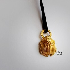 Download 3D printer designs Beetle Pendant, Nello