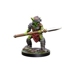 Download 3D printing designs Goblin spearman 28mm Miiniature, Nello