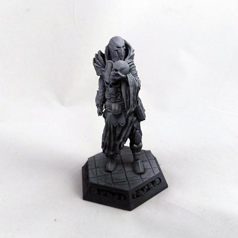 Modelos 3D Figura Fantasía Nigromante, Nello