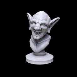 Download free 3D printing designs Goblin Bust, Nello