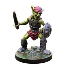 STL file Goblin swordman 28mm Miiniature, Nello