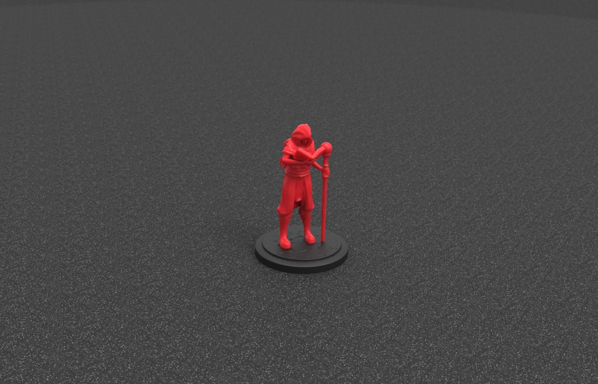 untitled.179.jpg Download STL file Wizard Apprentice Miniature • 3D printer design, Nello