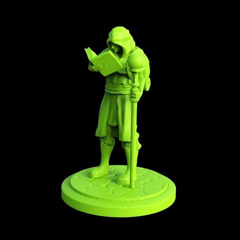 3d-printable-Wizard-Apprentice-miniature-view.jpg Download STL file Wizard Apprentice Miniature • 3D printer design, Nello