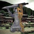 Descargar modelos 3D gratis Portaplumas Samurai, LordLilapause