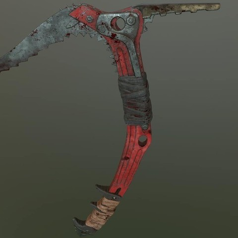 4bee12811a0dac5931f8d54d4c79681a_display_large.jpg Download free STL file Ice Tool Axe from Tomb Raider • 3D print template, HarryHistory