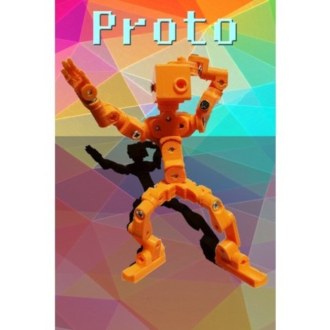 Download free 3D printing designs Proto - The little Mech, LordLilapause
