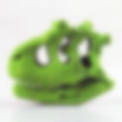 Free Dinosaur Skull 3D model, LordLilapause