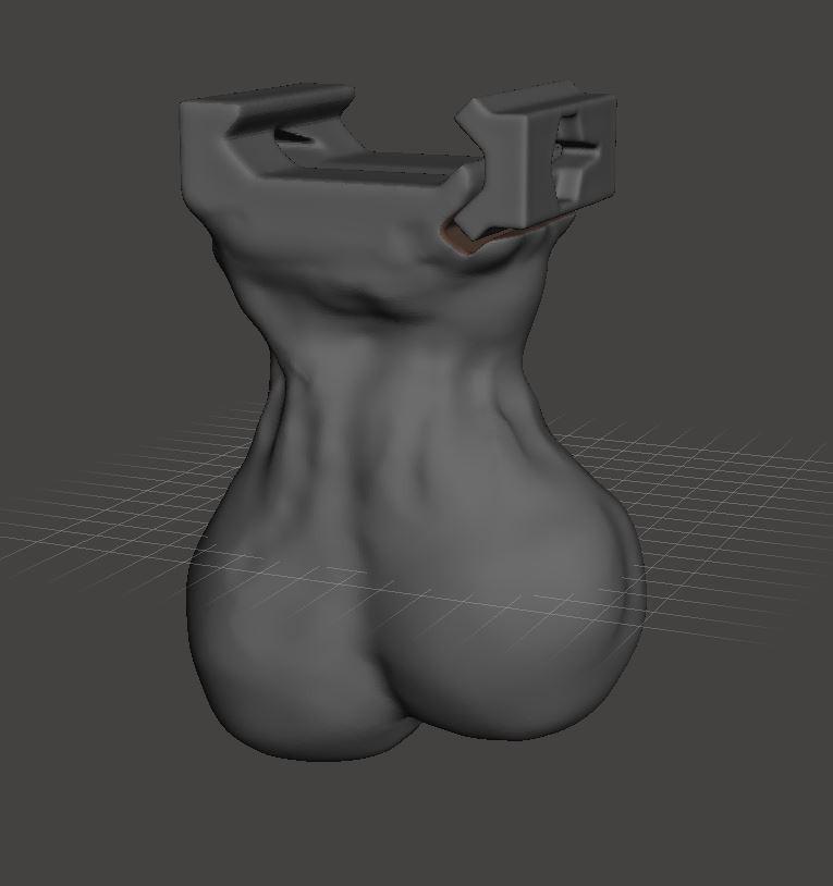 Sack2.JPG Download STL file Testicle Ballsack Airsoft adapt • 3D printing template, LordLilapause