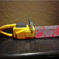 Free USB Chainsaw 3D model, LordLilapause