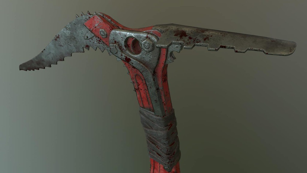 44604ab5fc58e2bb7fcafbbfa76295cd_display_large.jpg Download free STL file Ice Tool Axe from Tomb Raider • 3D print template, HarryHistory