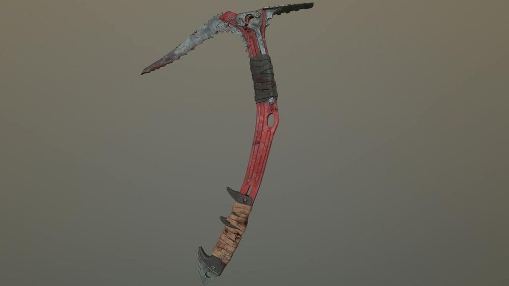 9fd4a6fd2d782d724b243a435531dd4f_display_large.jpg Download free STL file Ice Tool Axe from Tomb Raider • 3D print template, HarryHistory