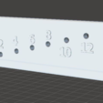 Capture d'écran 2017-06-30 à 17.02.53.png Download free STL file Drilling Template 2-12mm 90° • 3D printing template, LordLilapause
