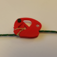 3D printing model paracord tensioner, Cadfinger