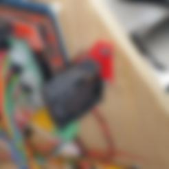 3D print files 40mm fan mount, Cadfinger