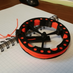 Capture d'écran 2018-03-29 à 10.46.46.png Download STL file micro cord spool • 3D printable model, Cadfinger