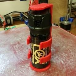 Descargar modelos 3D gratis funda de pimienta en spray, Cadfinger