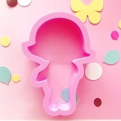 IMG_3433.JPG Télécharger fichier STL un emporte-pièce comme un club de bébé • Design à imprimer en 3D, kikenana