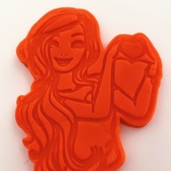 1F6E9EFA-D222-453D-B866-1D3FF14BCECB.JPG Download STL file cookie cutter and stamp barbie • Template to 3D print, kikenana